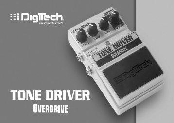 Tone Driver Manual - V - Digitech