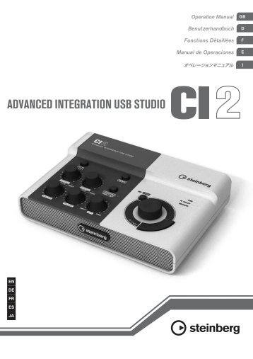 CI2 Operation Manual - zZounds.com