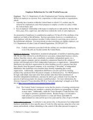 TA Bulletin 211, Ch. 2, Attachment 1 - Texas Workforce Commission