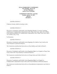 Commission Meeting Minutes: January 22, 2013, 2:00 p.m. - Texas ...