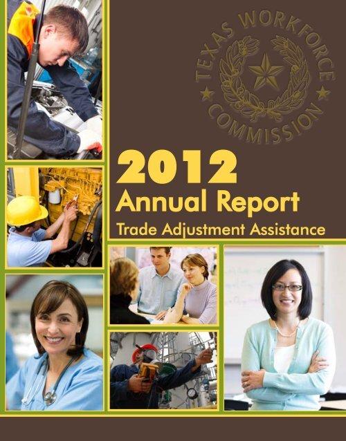 2012 TAA - Texas Workforce Commission