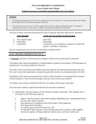 Form PS-016 - Texas Workforce Commission