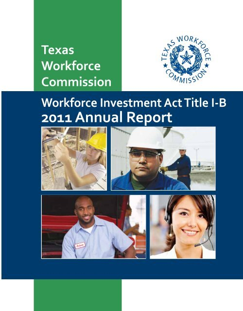 Workforce Investment Act: Annual Report for Program Year 2008