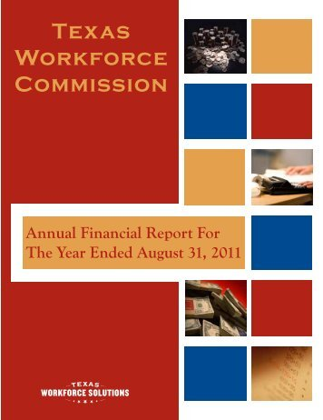 Texas Workforce Commission Annual Financial Report for the Year ...