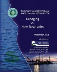 dredging - Texas Water Development Board