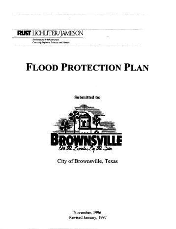 FLOOD PROTECTION PLAN - Texas Water Development Board