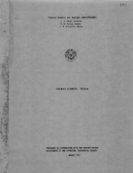 M101 - Texas Water Development Board