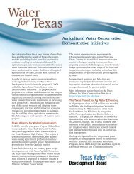 Agricultural Water Conservation Demonstration Initiatives