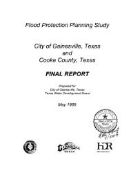 Flood Protection Planning Study City of Gainesville, Texas and ...