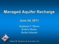 Managed Aquifer Recharge - Texas Water Development Board