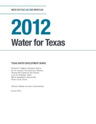 2012 State Water Plan Executive Summary - Texas Water ...