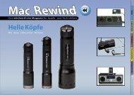 Mac Rewind - Issue 39/2009 (190) - MacTechNews.de - Mac Rewind
