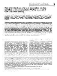Meta-analysis of genome-wide association studies identifies ...