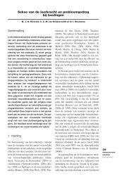 Sekse van de leerkracht en probleemgedrag bij leerlingen