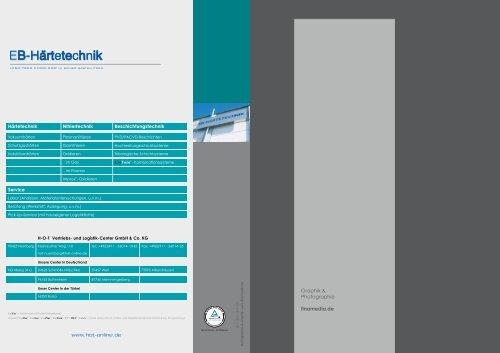 Eb-Härtetechnik Gmbh & Co. KG - FINAMEDIA