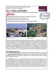 Neu: Oman und Dubai - Twerenbold Reisen AG
