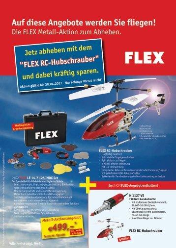 FLEX RC-Hubschrauber