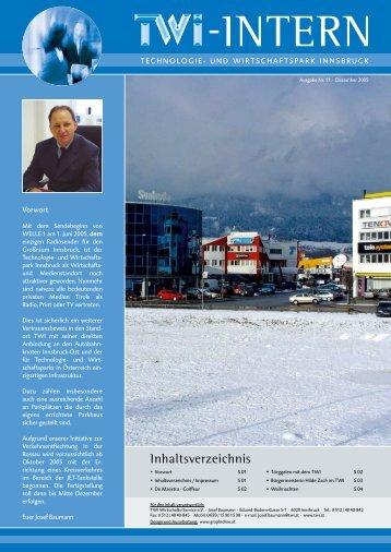 TWI Intern Ausgabe 4-2005