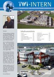 TWI Intern Ausgabe 2-2005