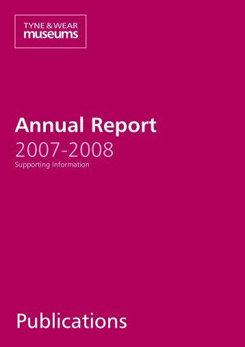 Annual Report 2007-2008 Publications