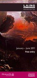 Free entry January – June 2011 - Tyne & Wear Museums