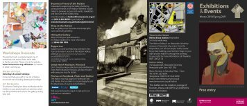 Exhibitions &Events; - Tyne & Wear Museums