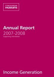 Annual Report 2007-2008 Income Generation - Tyne & Wear ...