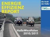 Energieeffizienz-Report für Halle Westfalen - TWO.de Technische ...