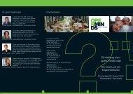 Programm-Flyer zum open minds day - Two4Science
