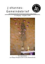 Taufen - Evangelische Kirche der Pfalz