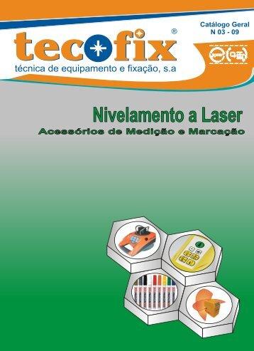 Nivelamento a Laser - Tecofix