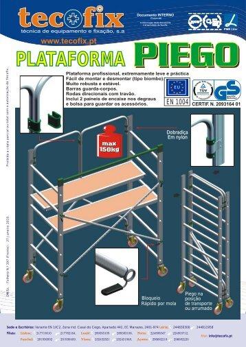 397 - Plataforma PIEGO - Tecofix