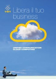 UNIFIED COMMUNICATION CLOUD COMPUTING - TWT
