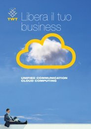Brochure Unified Communication and Cloud Computing ... - TWT