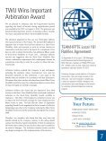 The Transmitter - Telecommunications Workers Union - Page 7