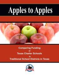 Apples to Apples - Texas Charter Schools Association