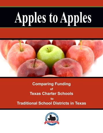 Apples to Apples - Texas Charter Schools Association