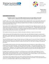 Foundation School is Texas - Texas Charter Schools Association