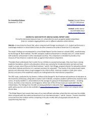 1 For Immediate Release: Contact: Hannah Abney September 27 ...