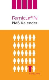 Femicur N: PMS Kalender - Schaper & Brümmer