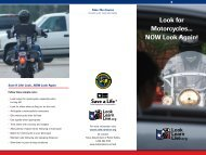 Look for Motorcycles... NOW Look Again! - Texas Department of ...