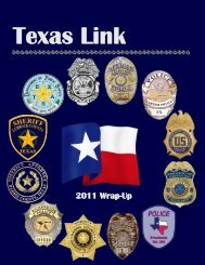 2011 Wrap-Up - Texas Department of Public Safety