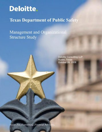 Management and Organizational Structure Study - Texas ...