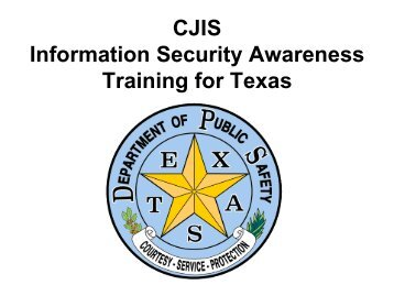 Information Security Awareness Training for Texas