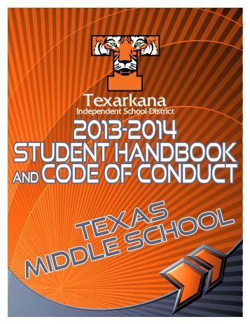 Student Handbook - Texarkana Independent School District
