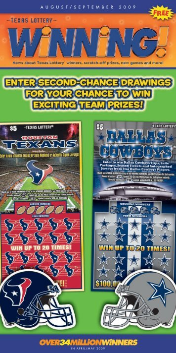 template for WINNING - Texas Lottery