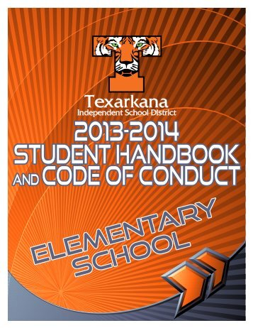 Student Handbook - Texarkana Independent School District