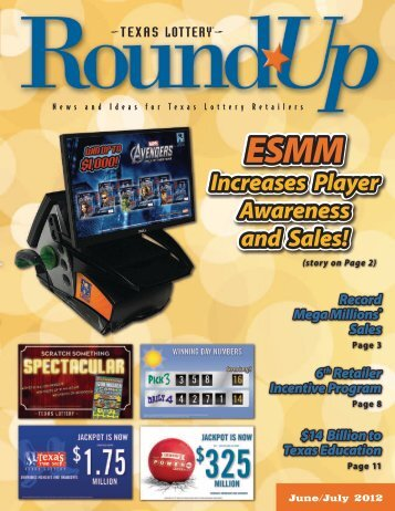 June/July 2012 - Texas Lottery