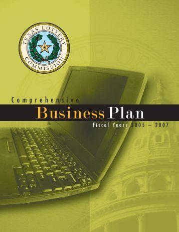 2005-2007 Plan - Texas Lottery
