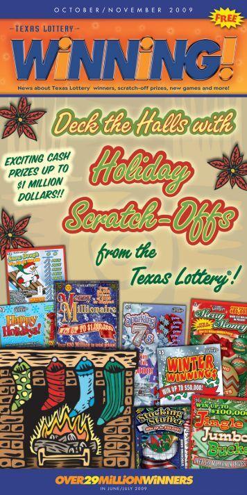 October-November - Texas Lottery
